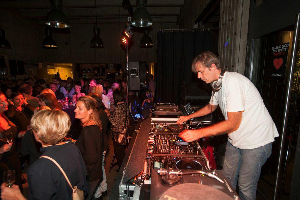 Sven Van Hees @ Wifty Party n°3 - 10/10/14