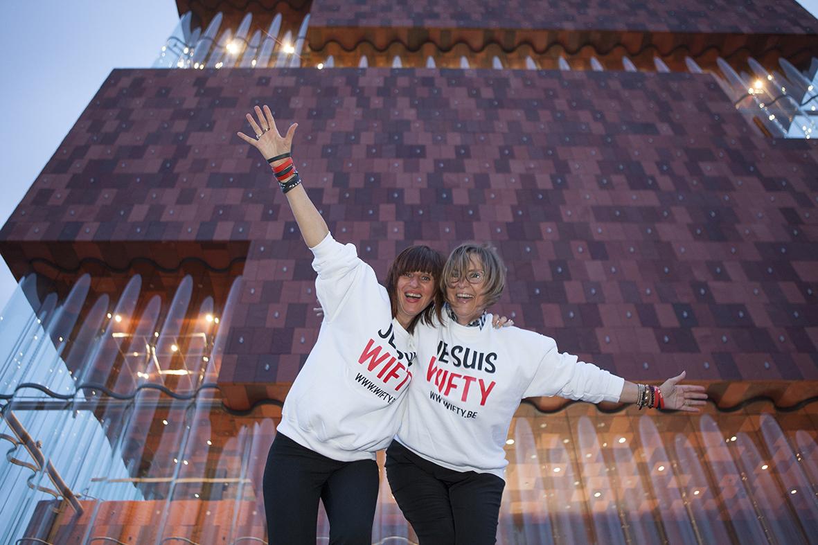 WIFTY PARTY 4 - Vrijdag 8 mei '15 - Foto: Jean Van Cleemput - www.wifty.be