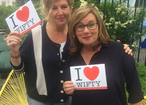 Wifty Radar Ellis en Hilde
