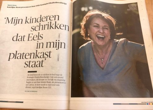 vrouw van 52 Katelijne Boon Klara Koningin Elisabethwedstrijd