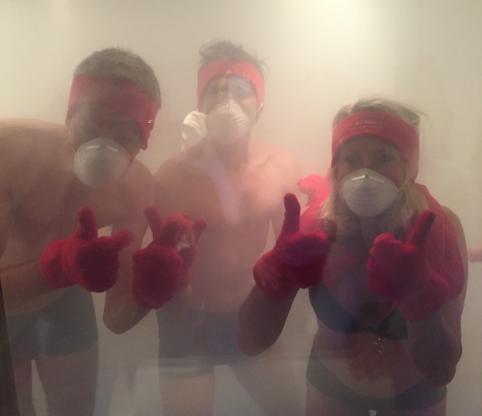 Leen Steyaert Testte De Cryo Sauna Enkele Voordelen Van Een Koude