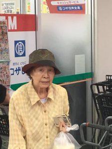 100 jarige op Okinawa.